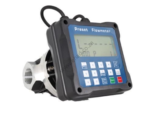Preset flow meter